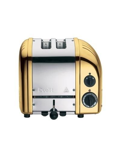 Dualit 27391 Classic 2 Dilim Ekmek Kızartma Makinesi- Pirinç Renkli